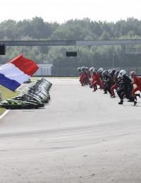 Départ endurance du 14 juillet Racing Kart JPR , Ostricourt ( Région de Lille, 59,62)