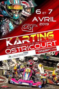 Racing Kart JPR Championnat de Ligue de karting Haut de France A proximité de Lille