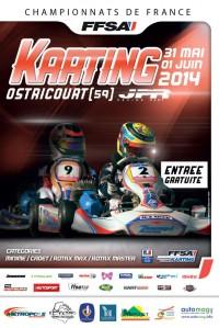 Championnat de France de Karting Rotax Max 2014 à Ostricourt