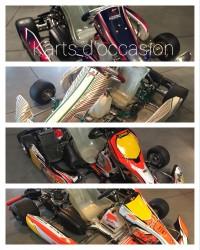 Les Karts d\'occasion Racing Kart JPR OSTRICOURT