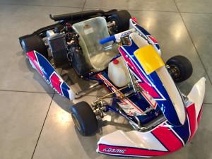 Kosmic Mercury R Rotax Evo Racing Kart JPR Ostricourt