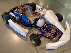 Kosmic Minime avec Parilla Gazelle Racing Kart JPR Ostricourt