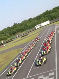 Départ Kart 390cc Ostricourt Racing Kart JPR