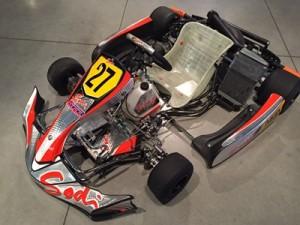 Racing kart Jpr Ostricourt Rotax DD2 Sodi