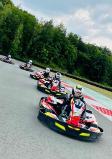 Karts Junior au Racing Kart JPR Ostricourt