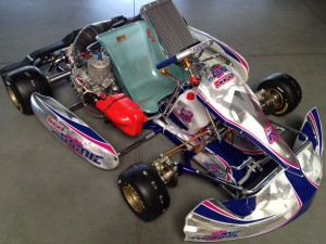 Kosmic TM K9C Racing Kart JPR Ostrciourt