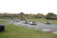 Départ Sprint Cup Racing Kart JPR