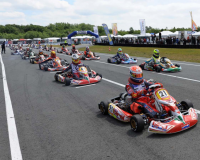 Départ KZ2 Ostricourt GPO 2011 championnat de France FFSA Karting