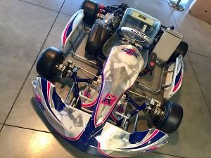 Kosmic DD2 Evo Racing Kart JPR Ostricourt
