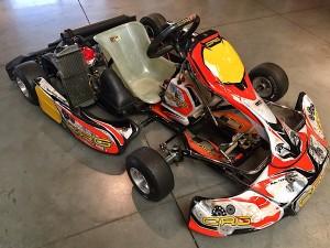 Cadet CRG Rotax Racing Kart JPR Ostricourt